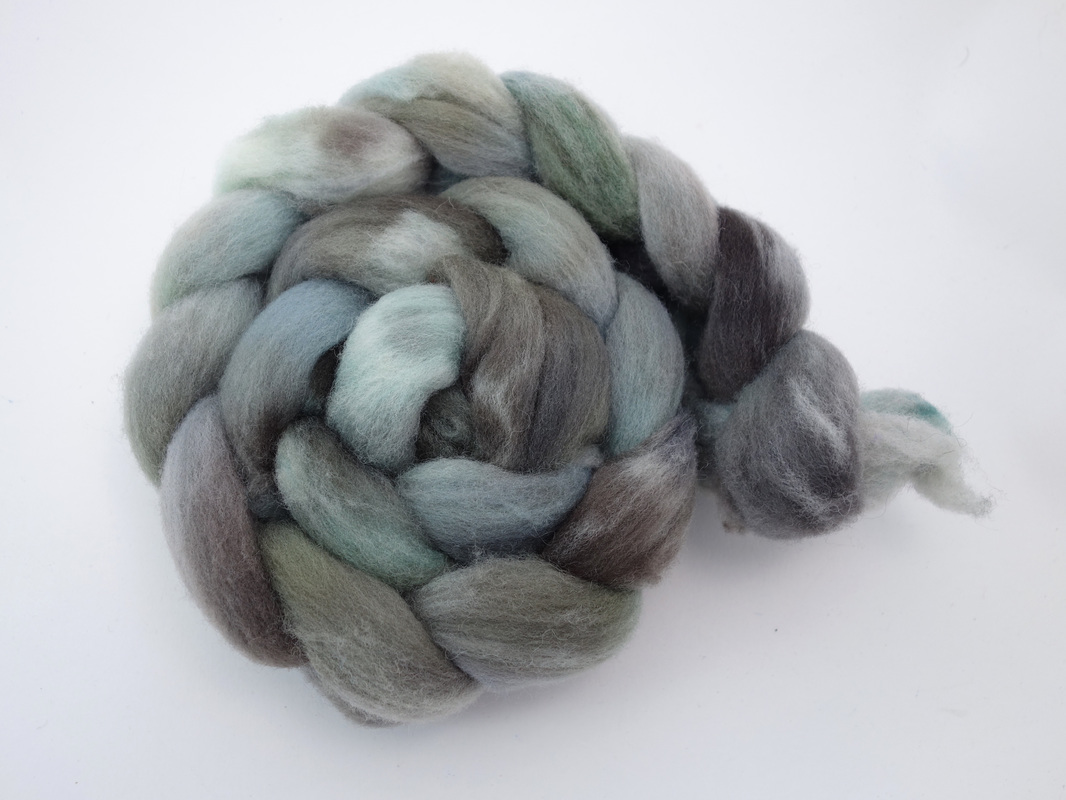 Hand Dyed British Southdown