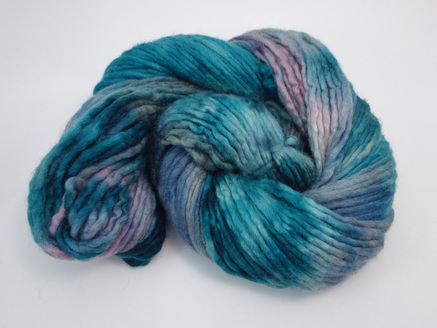 Hand Dyed BFL Pencil Roving