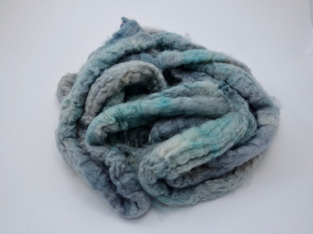 Hand Dyed Cashmere Fiber
